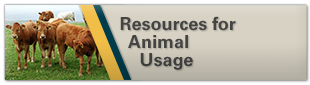 Resources for Animal Usage