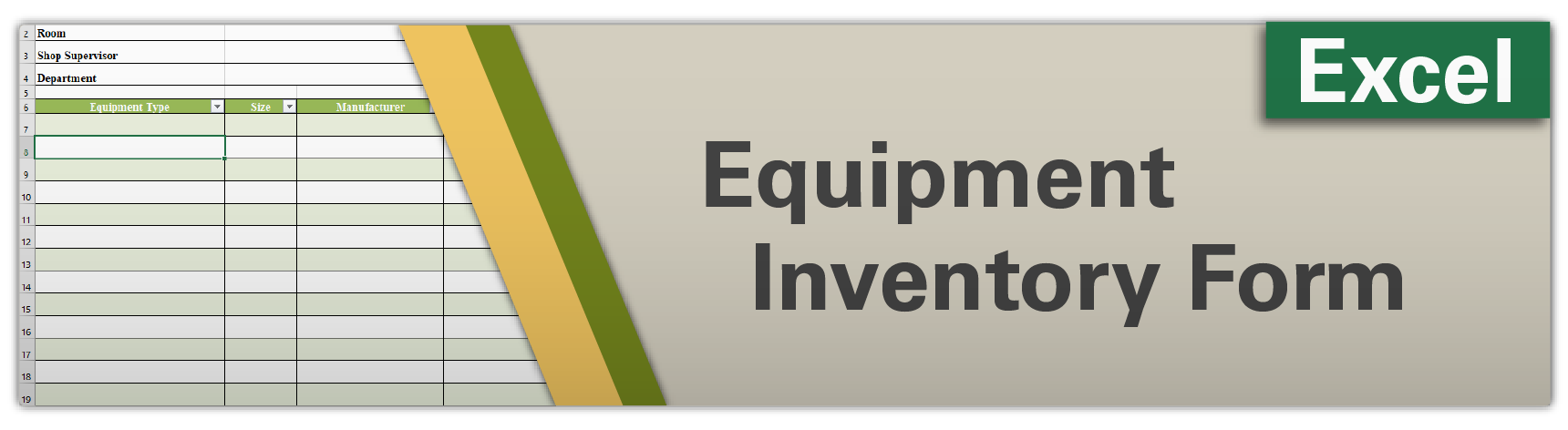 Equipment Inventory Form