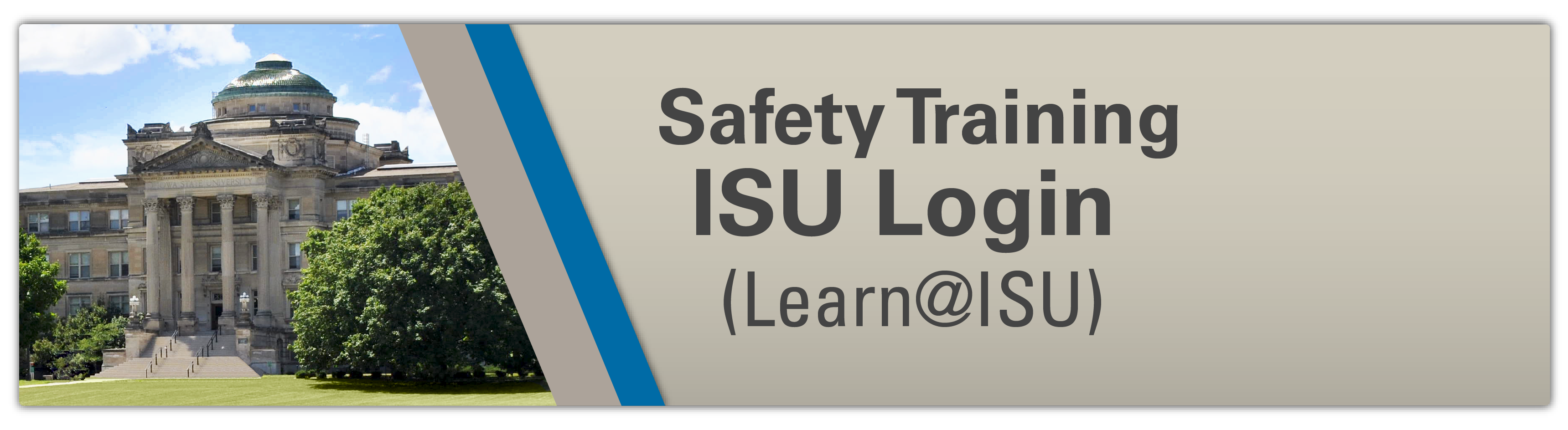 ISU Employees Safety Training Login (Learn@ISU)