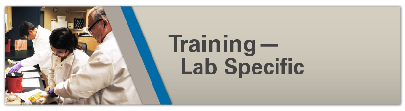 Training - Lab Specific