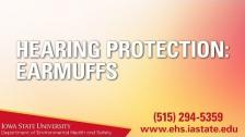 Hearing Protection: Earmuffs