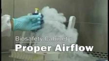 Proper Airflow (Biosafety Cabinet)