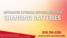 AED: How to Replace Batteries