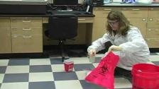 Cleaning Up a Spill (Bloodborne Pathogens)