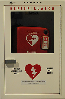 automated external defibrillators environmental health and safety. Black Bedroom Furniture Sets. Home Design Ideas