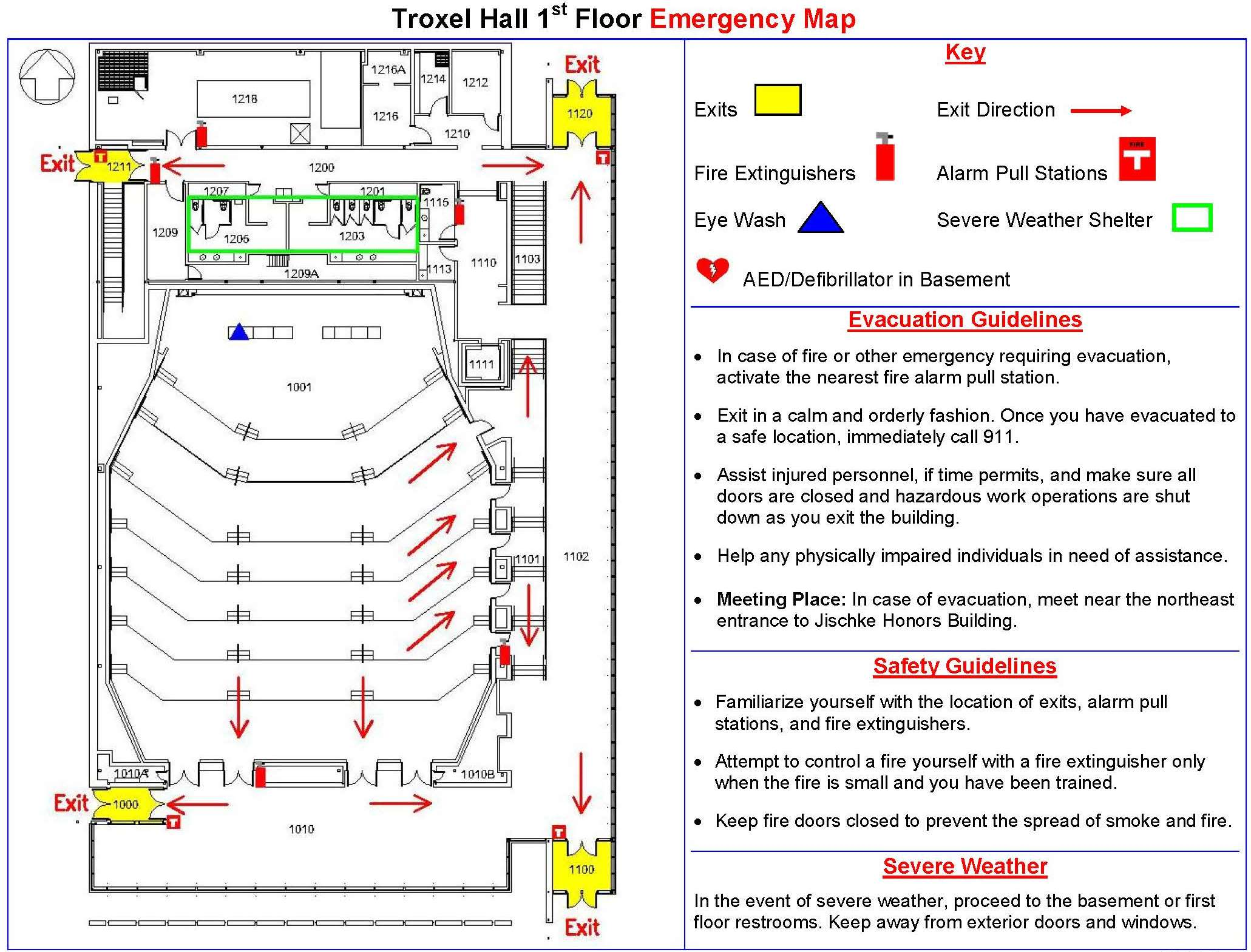 Emergency evacuation maps electrical house wiring diagrams for Fire plans
