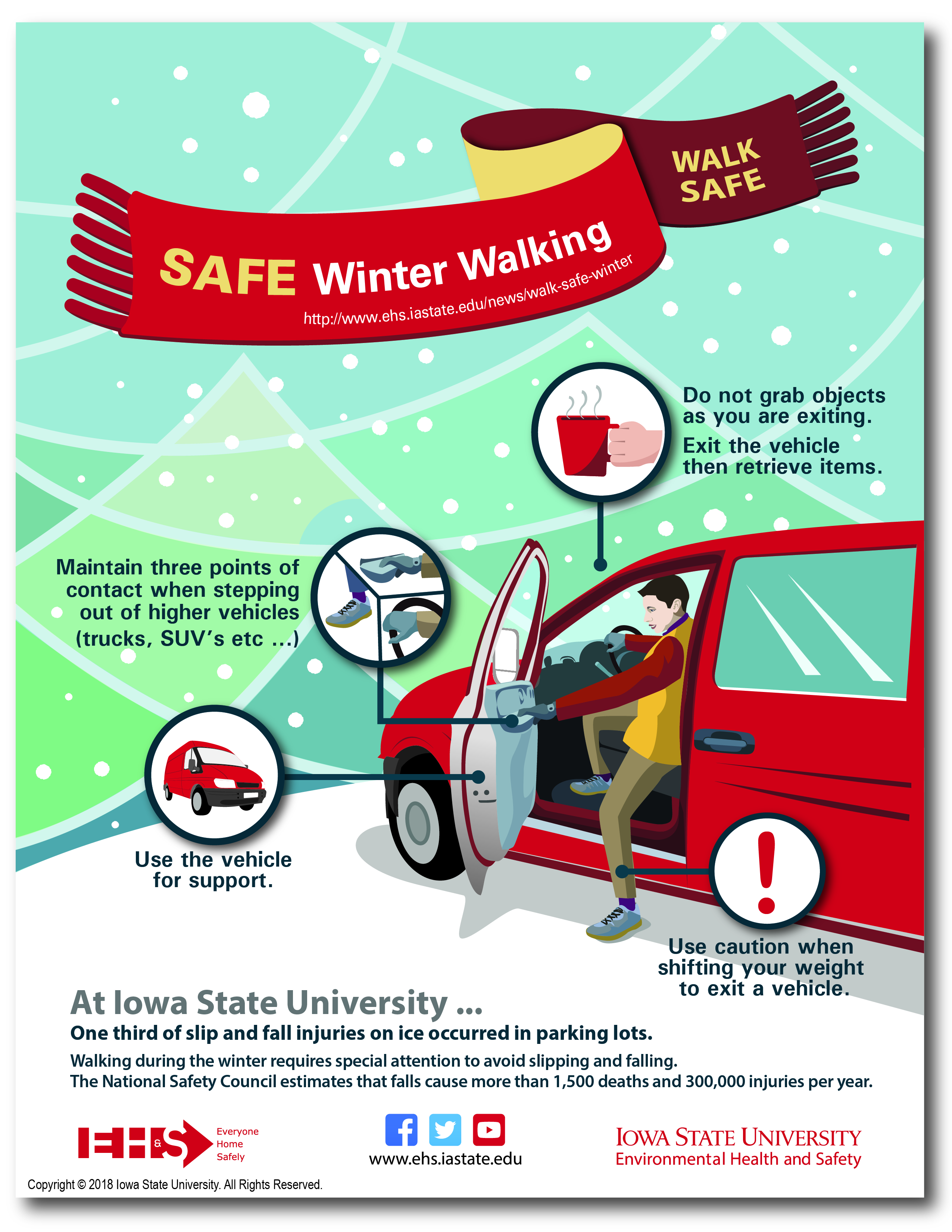 Walk Safe This Winter Environmental Health And Safety