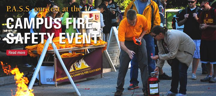 Campus Fire Safety Event