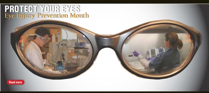 Eye Injury Prevention Month
