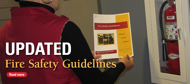 updated fire Safety guidelines