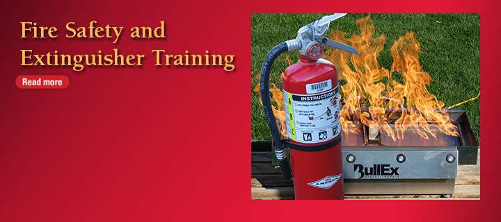 Fire Safety and Extinguisher Training