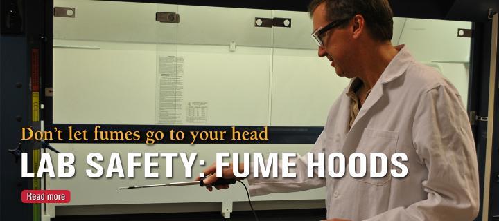 Fume Hood training