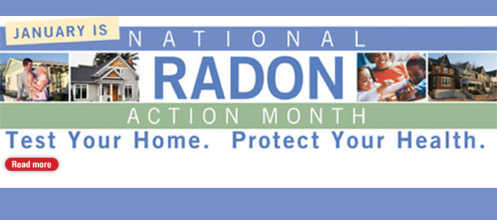 January is National Radon Month