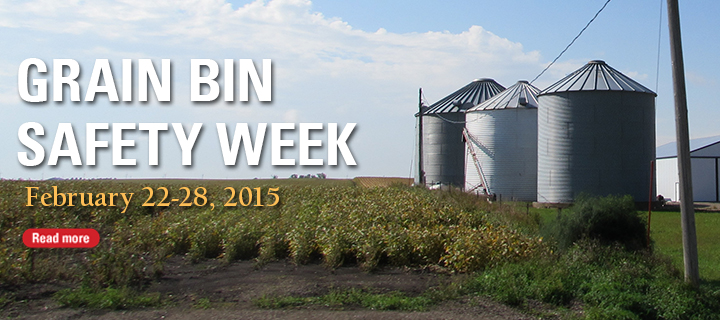 Grain bin safety week