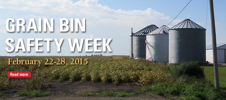 Grain bin safety week