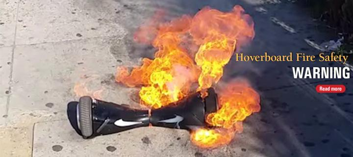 Hooverboard Fire Safety