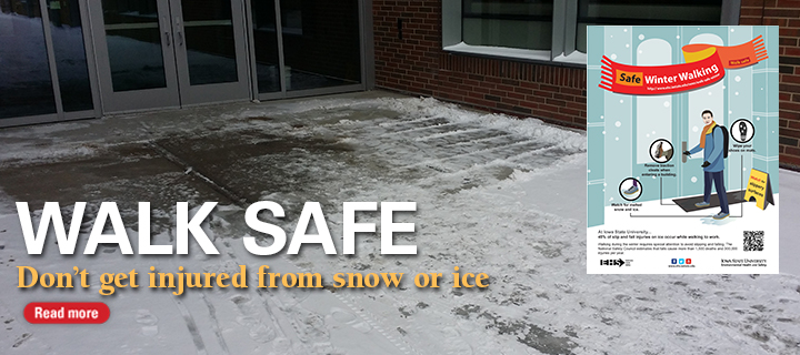 Walk Safe this Winter